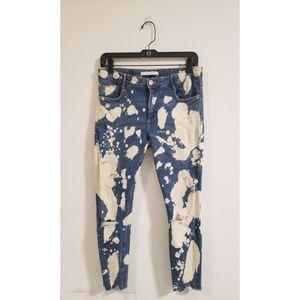 SOHO Bleached Denim Jeans